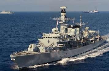 खाड़ी में ब्रिटिश टैंकर को कब्जे में लेने की कोशिश, रॉयल नेवी के आने पर पीछे हटा ईरान