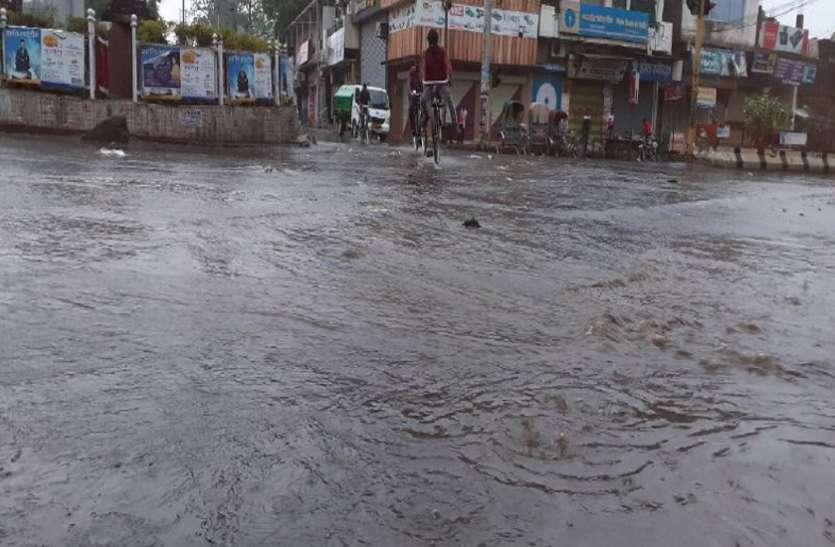जिले में अब तक 324 मिमी बारिश, पिछले साल की तुलना में 42 मिमी ज्यादा हुई बारिश