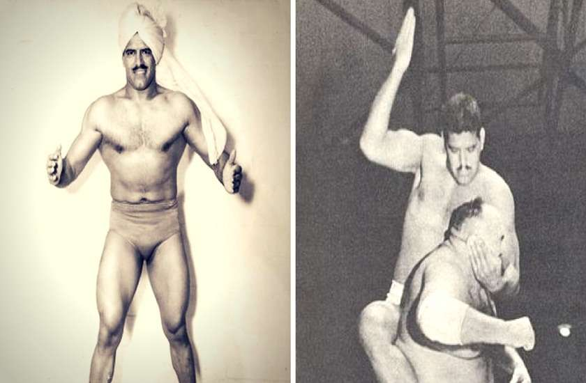 dara singh and king kong fight