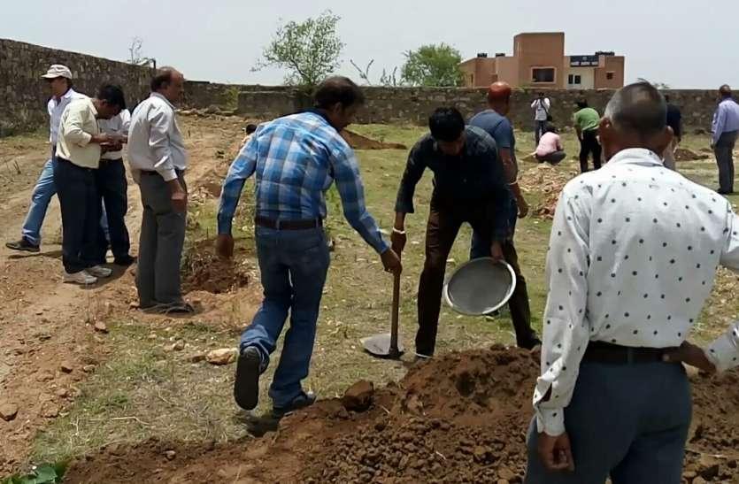 Plantation: लिया विश्वविद्यालय में हरियाली फैलाने का संकल्प