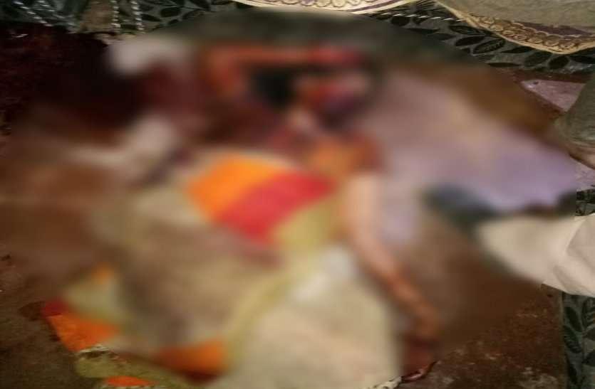 Mother-son murder in datia