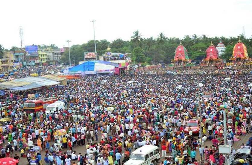 जगन्नाथ महाप्रभु की बहुधा यात्रा आज, गुंडिचा मंदिर में भक्तों का तांतां