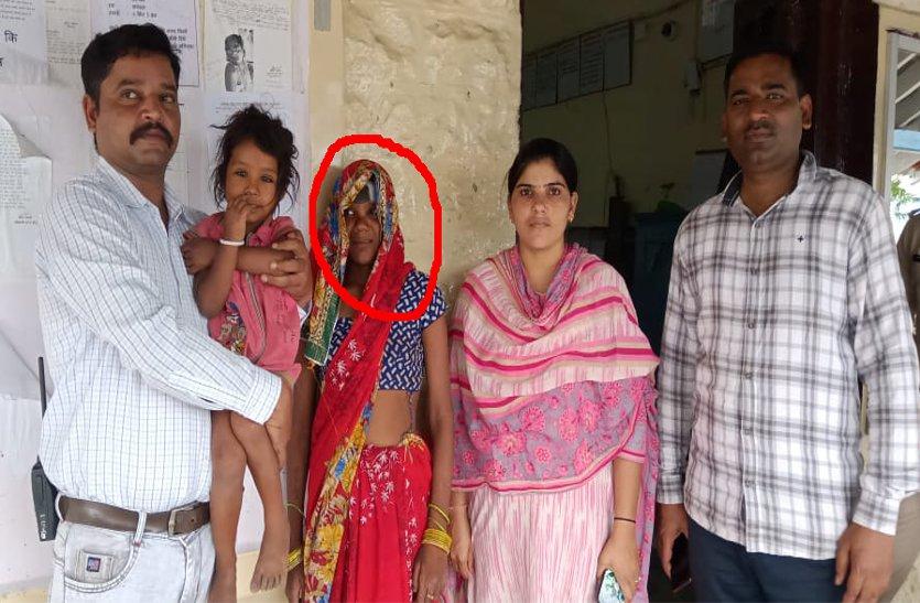 video: महिला ने किया था भोपाल से बच्ची का अपहरण, बीना में किया गिरफ्तार