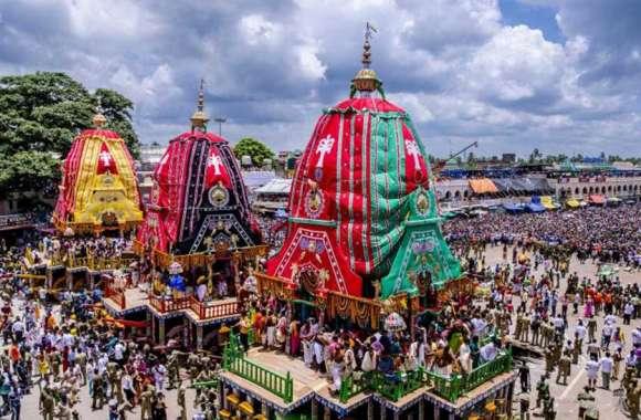 बहुधा यात्रा 2019:गुंडिचा से श्रीमंदिर पहुंचे महाप्रभु, हल्की फुहारों के बीच 'जय जगन्नाथ' का उद्घोष