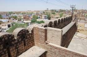 वैभव खो रही शहर की विरासत- नियम दरकिनार, गुम हो रही 'सुरक्षा दीवार'