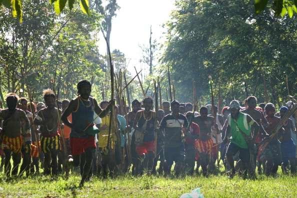 Papua new guinea violence file photo