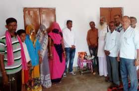 नवनिर्मित आंगनबाड़ी भवन महिला एवं बाल विकास विभाग को किया सुपुर्द