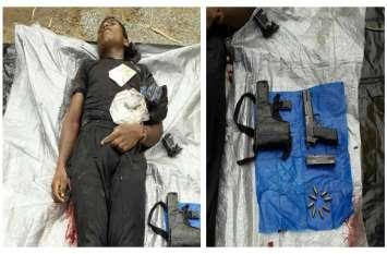 पांच लाख का इनामी माओवादी पुलिस मुठभेड़ में हुआ ढेर, पुलिस से लूटी हुई बंदूक और कारतूस बरामद