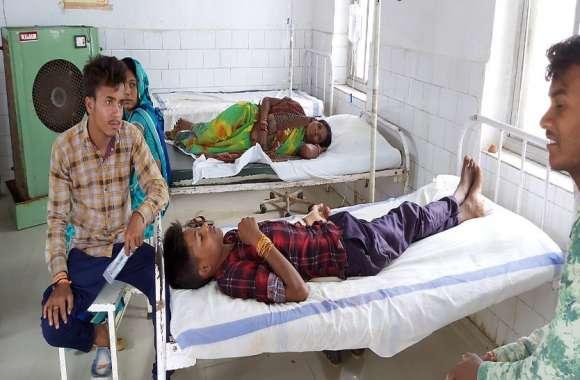 hospital latest news :  गांव में फैला डायरिया का प्रकोप,मरीजों की संख्या पहुंची 100 से अधिक