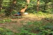 जंगल में इस अवस्था में महिला को देख दंग रह गया हर कोई