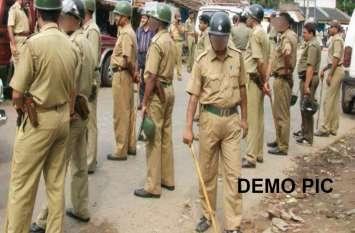 दो परिवारों के बीच विवाद से मोहल्ले में तनाव, कई लोग घायल, पुलिस तैनात