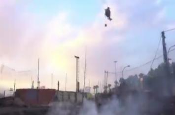 VIDEO: इटली के जंगलों में भीषण आग, हेलीकॉप्टर और प्लेन के जरिए बुझाने की कोशिश