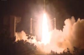 VIDEO: UAE का जासूसी उपग्रह अटलांटिक में दुर्घटनाग्रस्त