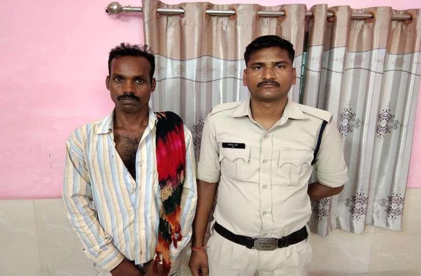 नाबालिग लड़की को भगाने वाले आरोपी को पुलिस ने जांजगीर जिले से पकड़ा
