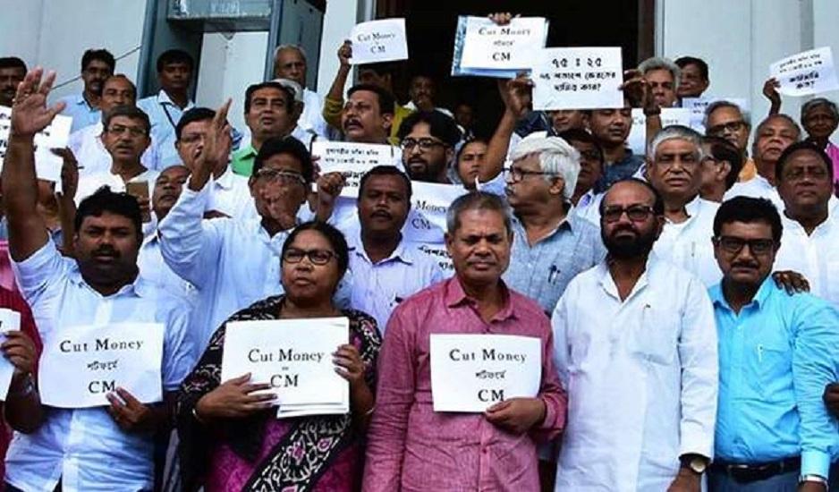 west bengal cutmoney controversy : शौचालय से श्मशान तक फैला कटमनी का काला कारोबार