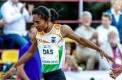 महिला धावक हिमा दास ने दो सप्ताह के भीतर जीता तीसरा गोल्ड मेडल