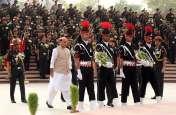 VIDEO: युद्ध स्मारक से चला विजय मशाल, 11 रणबांकुर लेकर जाएंगे करगिल