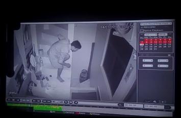 रायबरेली में सीसीटीवी कैमरे में कम उम्र के चोर चोरी करते हुए देखे गये, पुलिस ने शरू की जाँच