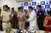 रेप और हत्या के आरोपी को कठोर सजा दिलाने वाले पुलिस टीम को मंत्री ने किया सम्मानित