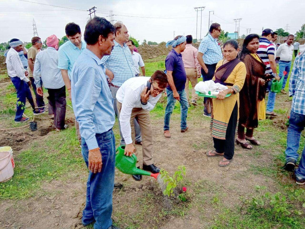 Patrika harit pradesh campaign in Bilaspur