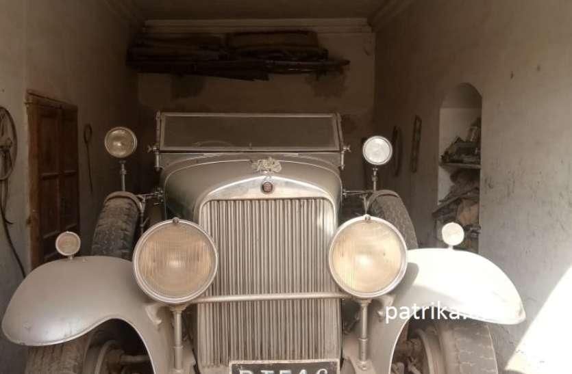 बीकानेर के बैद परिवार के पास अब भी है 1928 में खरीदी अमरीकन कैडलक कार, रियासतकालीन कार के यह भी थे मुरीद