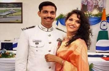मिराज क्रैश में शहीद स्क्वाड्रन लीडर की पत्नी एयर फोर्स में हुई शामिल, उड़ाएंगी फाइटर प्लेन