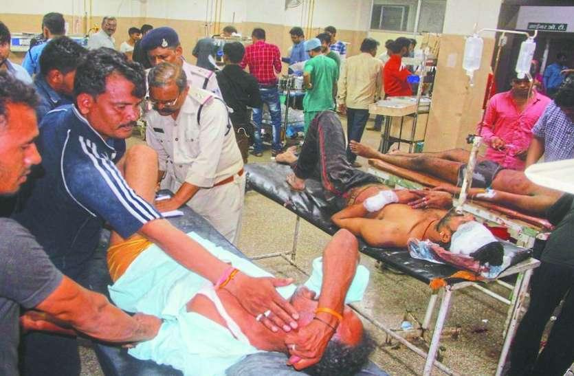 बदमाशों ने कई इलाकों में सिलसिलेवार की चाकूबाजी, एक की हत्या, 7 गंभीर घायल