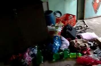 Crime in Agra भट्ठा स्वामी का परिवार सोता रहा, घर से चार लाख नकद समेत आभूषण चोरी