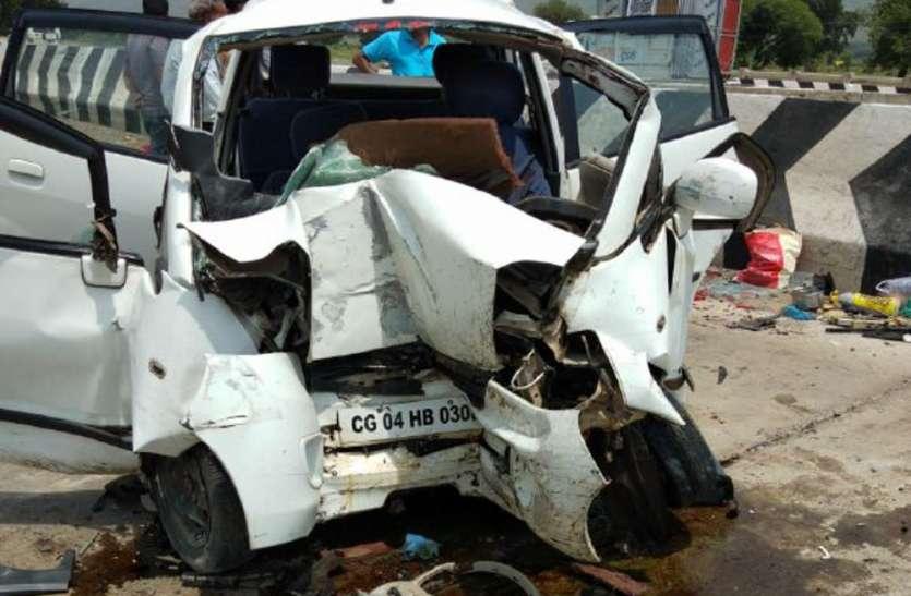 Breaking: कार हादसे में एक ही परिवार के चार लोगों की मौत, मृतकों में माता-पिता, बेटा-बेटी शामिल