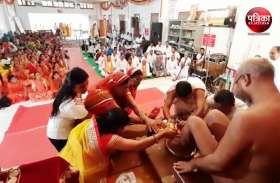 Guru Purnima 2019 : गुरु चरणों में वंदन करने उमड़े भक्त अपार, दर्शन पाकर धन्य हो उठे, गूंजी जय-जयकार