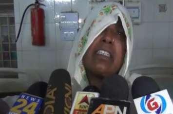 रुपये मांगने पहुंच गया ससुराल, मना करने पर पत्नी का ये कर दिया हाल, देखें वीडियो