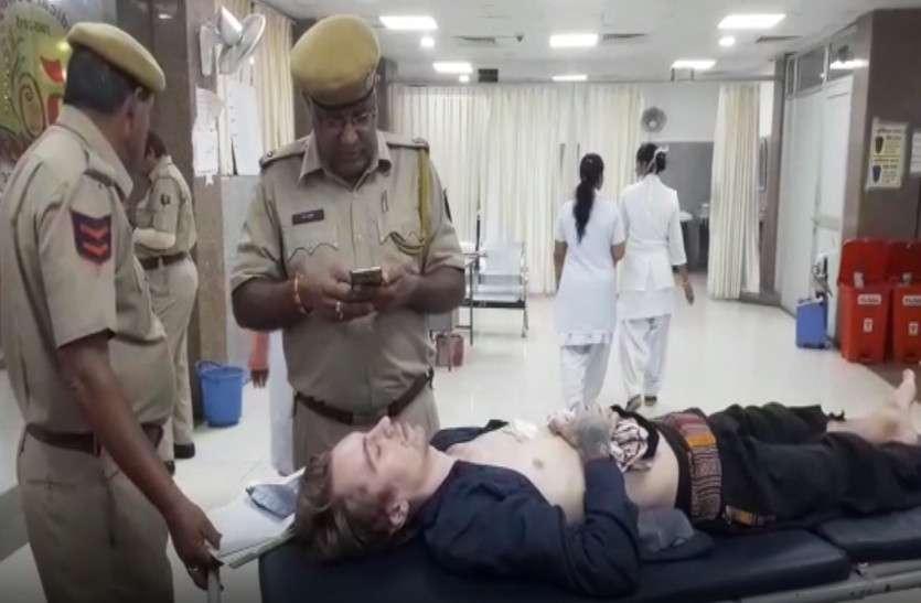 पुष्कर में विदेशी पर्यटक के साथ दिल दहलाने वाली घटना से हडक़ंप, ऐसी संदिग्ध हालत में देख पुलिस भी रह गई दंग