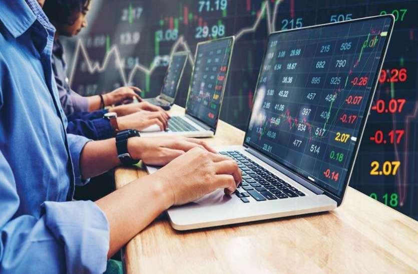 धनतेरस के दिन बाजार में मुनाफावसूली हावी, सेंसेक्स 250 अंक टूटा, निफ्टी में 71 अंक की गिरावट
