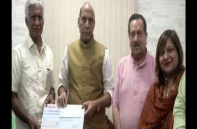रिटायर्ड वायु सैनिक ने दान की अपनी पूरी सेविंग्स, जानें क्यों रक्षा मंत्रालय को सौंपे 1 करोड़ रुपए
