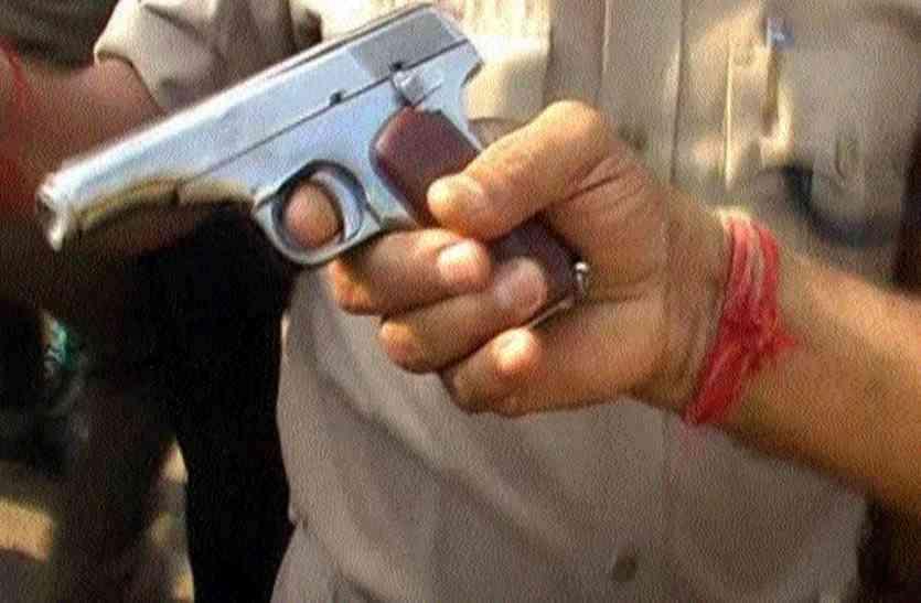 राजधानी में दो पक्षों में हुआ झगड़ा, एक पक्ष ने पिस्टल से किया फायर, इलाके में फैली दहशत