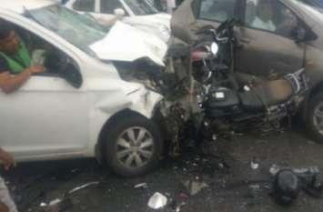 JLN Road Accident: टक्कर मारने वाला बोला, 'ठीक से नहीं आती ड्राइविंग', सवाल- फिर कैसे बन गया लाइसेंस