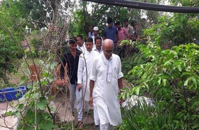 Digvijay Singh met victim's family