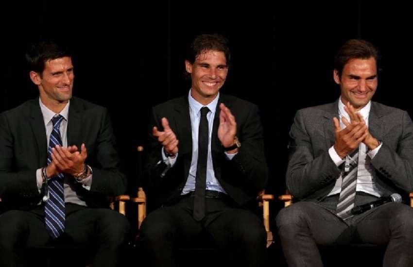 Federer, Nadal, Djokovic