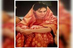 प्रियंका गांधी की 22 साल पुरानी तस्वीर सोशल मीडिया पर वायरल, #SareeTwitter में हुईं शामिल