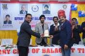 रोटरी क्लब ऑफ बालाघाट टाइगर्स के नव-नियुक्त अध्यक्ष और सचिव ने लिया पदभार