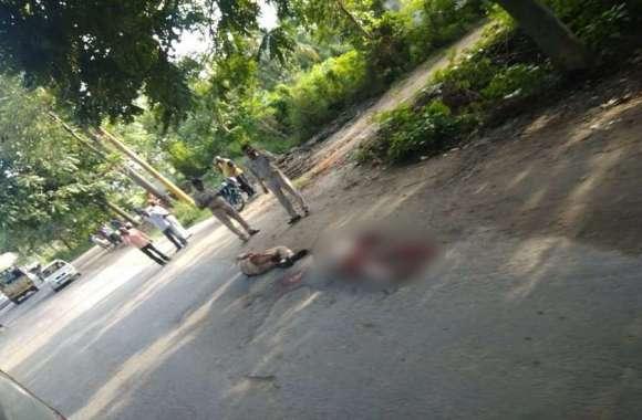 बड़ी खबर: पेशी से जा रहे तीन कैदियों ने राइफल लूटकर दो पुलिस वालों को गोलियों से भूना, अलर्ट जारी