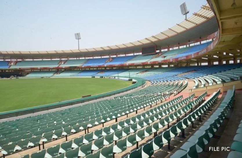 राज्य के खिलाडियों के लिए खुशखबरी, करोड़ों रुपयों की लागत से बन रहा ब्यावर स्टेडियम जल्द होगा शुरू