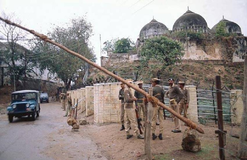 Ram Janmabhoomi Babri Masjid land dispute