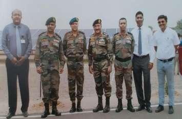 देश में सैन्य क्षेत्र का सबसे अनूठा और बड़ा प्रयोग हुआ जोधपुर में