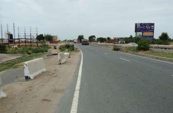 जयपुर—दिल्ली हाइवे पर संभलकर चलाएं वाहन क्योंकि पुलिया हादसों को दे रही है दावत