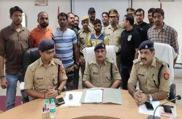 पुलिस ने 25000 के इनामी बदमाश को गिरफ्तार, आगरा कानपुर हाइवे पर हुई थी मुठभेड़