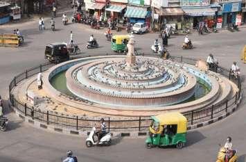 जोधपुर में इतनी बार चौराहे तोड़े कि बन गए 'प्रयोगशाला'