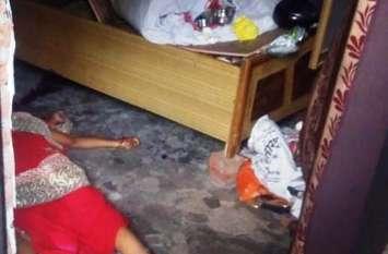 Kanpur Crime News दिनदहाड़े घर में घुसकर महिला का बेरहमी से कत्ल