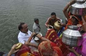 नगर परिषद् के आह्वान पर राजभोई समाज की महिलाओं ने छलकाई श्रद्धा की गागर, महादेव को किया जलमग्न