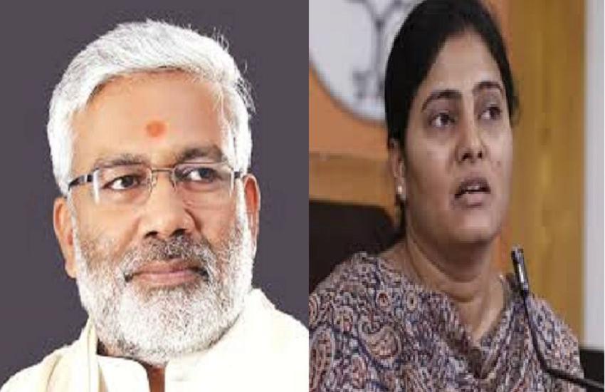 Swatantra Dev Singh and Anupriya patel